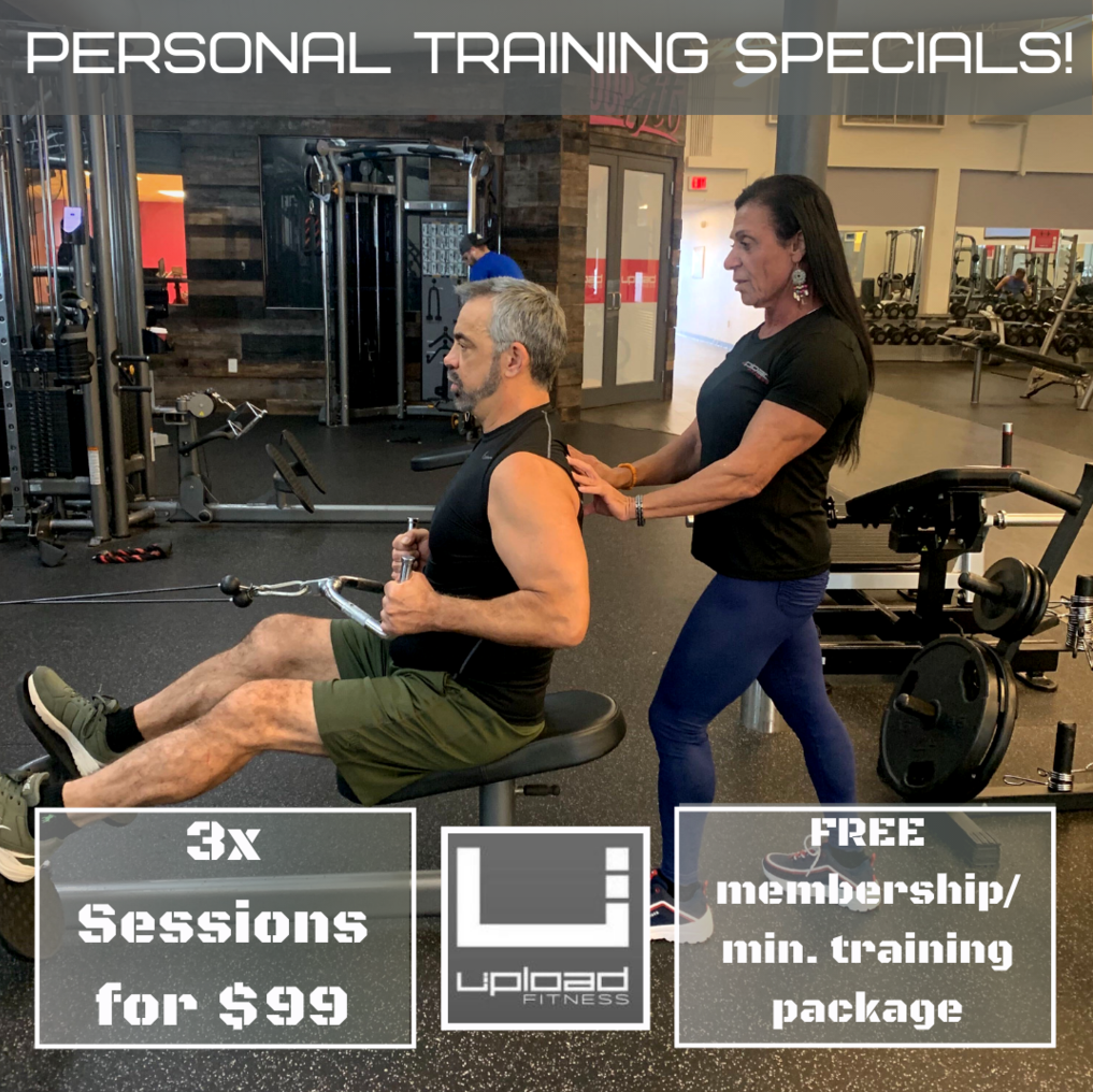 Upload Fitness Personal Training Specials
